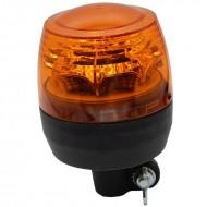 Lampeggiante trattore asta flessibile 12-24 V - girofaro made in italy
