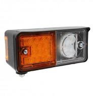Faro per trattore anteriore sinistro a LED 2 luci