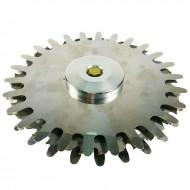 Spollonatore decespugliatore con salvacorteccia universale Ø 270 mm