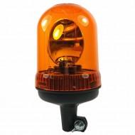 Lampeggiante trattore a baionetta arancio 12/24V girofaro asta