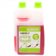 Olio miscela sintetico per motori a 2 tempi 1 lt con dosatore