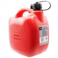 Tanica benzina 5 litri in plastica con beccuccio travasatore