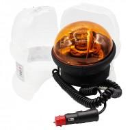 Lampeggiante trattore Ellipse magnetico 12/24 V - girofaro
