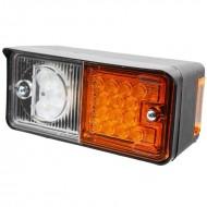 Faro per trattore anteriore destro a LED 2 luci