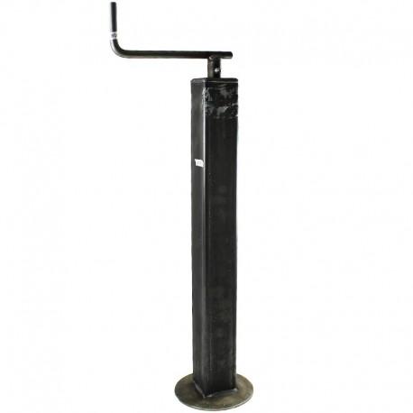 Servotimone telescopico piede appoggio per rimorchi agricoli D. 60 mm corsa 400 x 570
