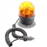 Lampeggiante trattore magnetico e ventosa 12 V microboule-r Sirena - girofaro