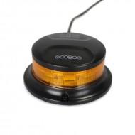 Lampeggiante trattore a led Cobo Mini flashing magnetico - girofaro - indicatore 12/24V