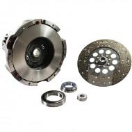 Frizione completa Fiat CNH meccanismo doppio Ø 310 + disco di forza + cuscinetti Luk