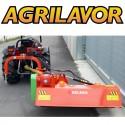 Trincia argini per trattore Volpe 170 - trincia laterale