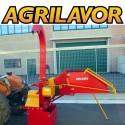 Biotrituratore a trattore Deleks DK-1500 - biocippatore a cardano