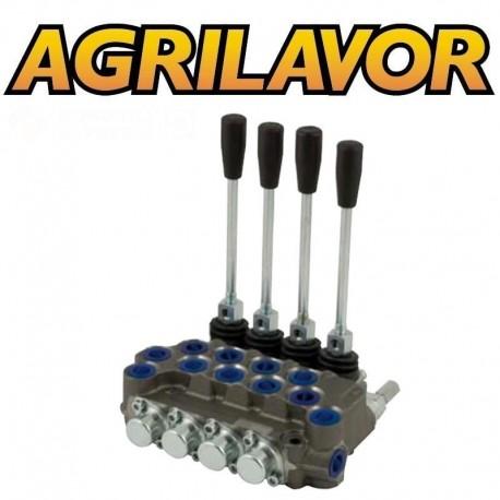 Distributore idraulico ML 3/8' doppio effetto a 4 leve