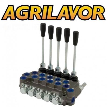 Distributore idraulico ML 3/8' doppio effetto a 5 leve