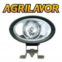 Faro da lavoro ovale con vetro trasparente - proiettore da lavoro