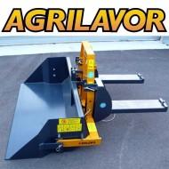 Pala ribaltabile per carrello elevatore - muletto PRM 140 H - M