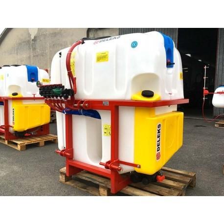 Botte per irrorazione 700 lt + tubo e lancia alta pressione