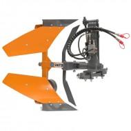Aratro idraulico monovomere reversibile voltaorecchio Deleks DRHP-35