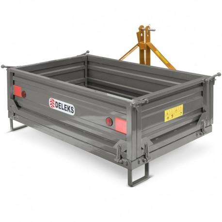 Cassone Transporter ribaltabile manuale per trattore agricolo T-1600