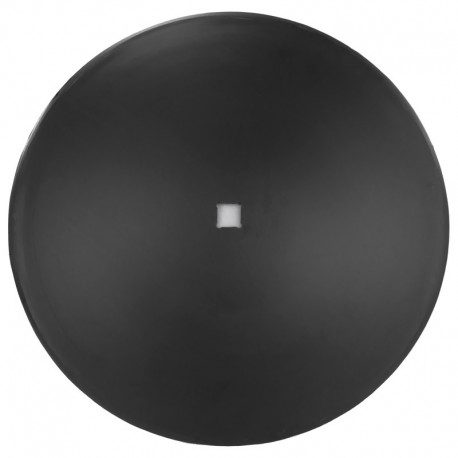 Disco liscio per frangizolle Ø 610 mm - quadro 41 mm sp. 5 mm