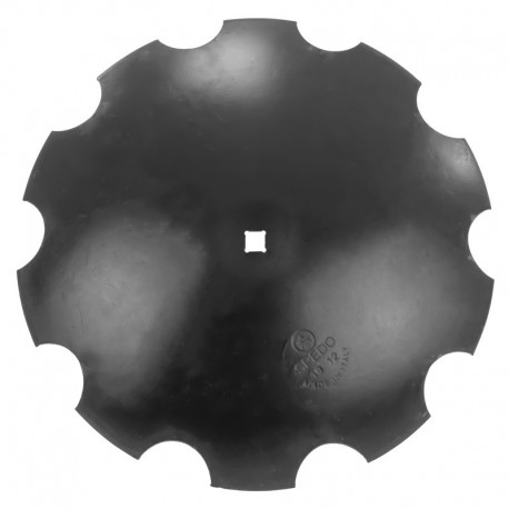 Disco dentato per frangizolle Ø 560 mm - quadro 31 mm