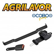 Kit cinture di sicurezza con arrotolatore staffa 49 cm Cobo