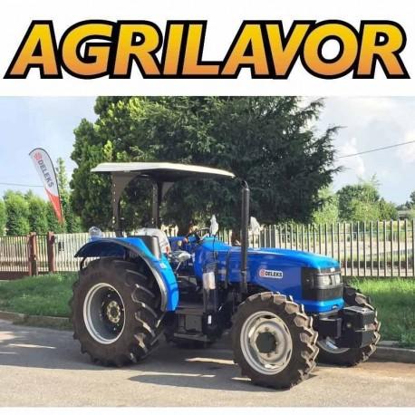 Trattore Solis 60 cv 4x4 motore International Tractors